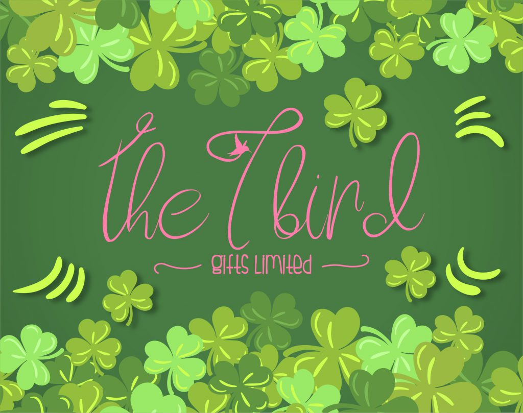 The T Bird st Patricks Day Logo Banner