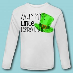 Mummy's Little Leprechaun T Shirt