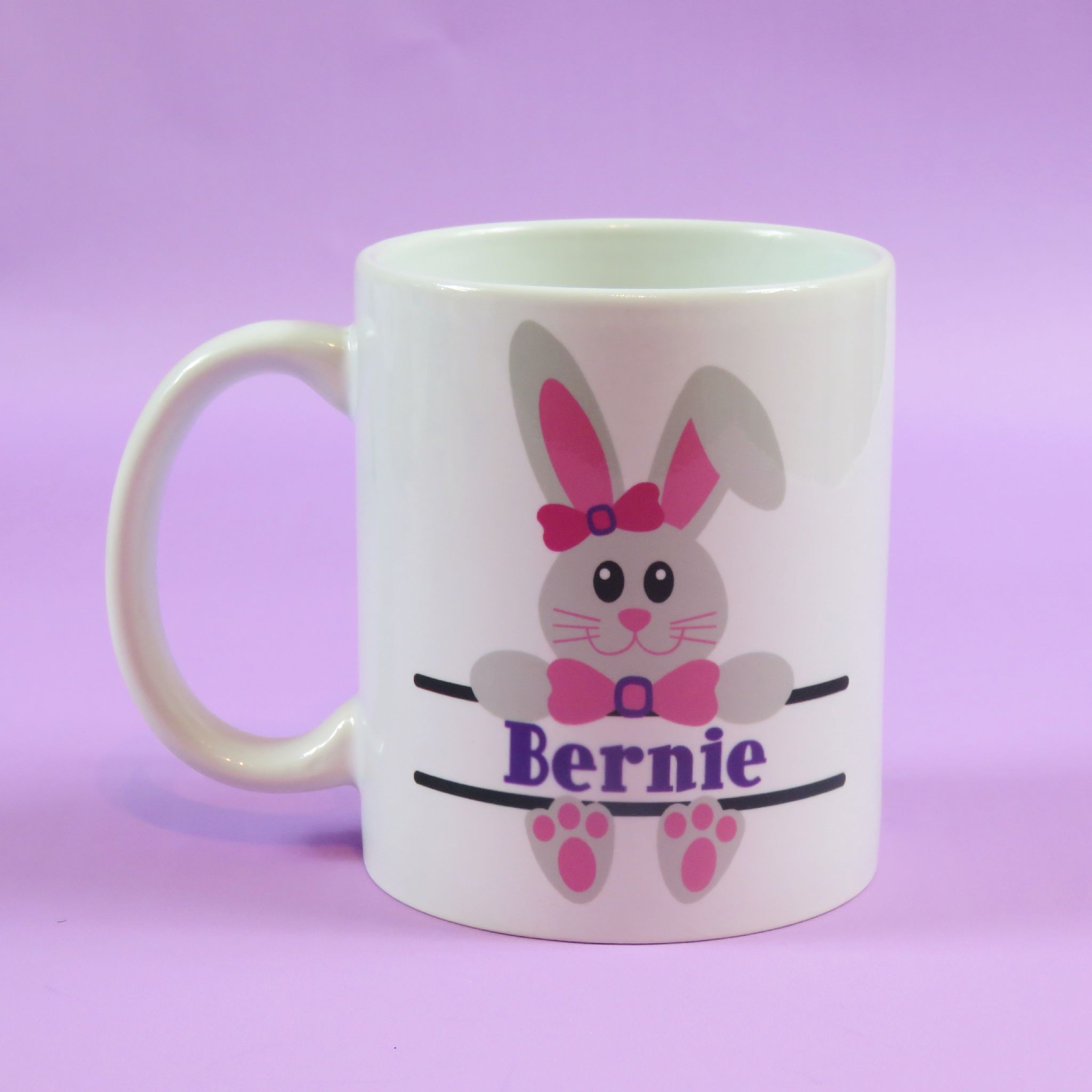 Easter gift easter mug rabbit holding name rabbit ears rabbit mug easter gift easter mug rabbit holding name rabbit ears rabbit mug easter gifts spring themed gifts negle Choice Image