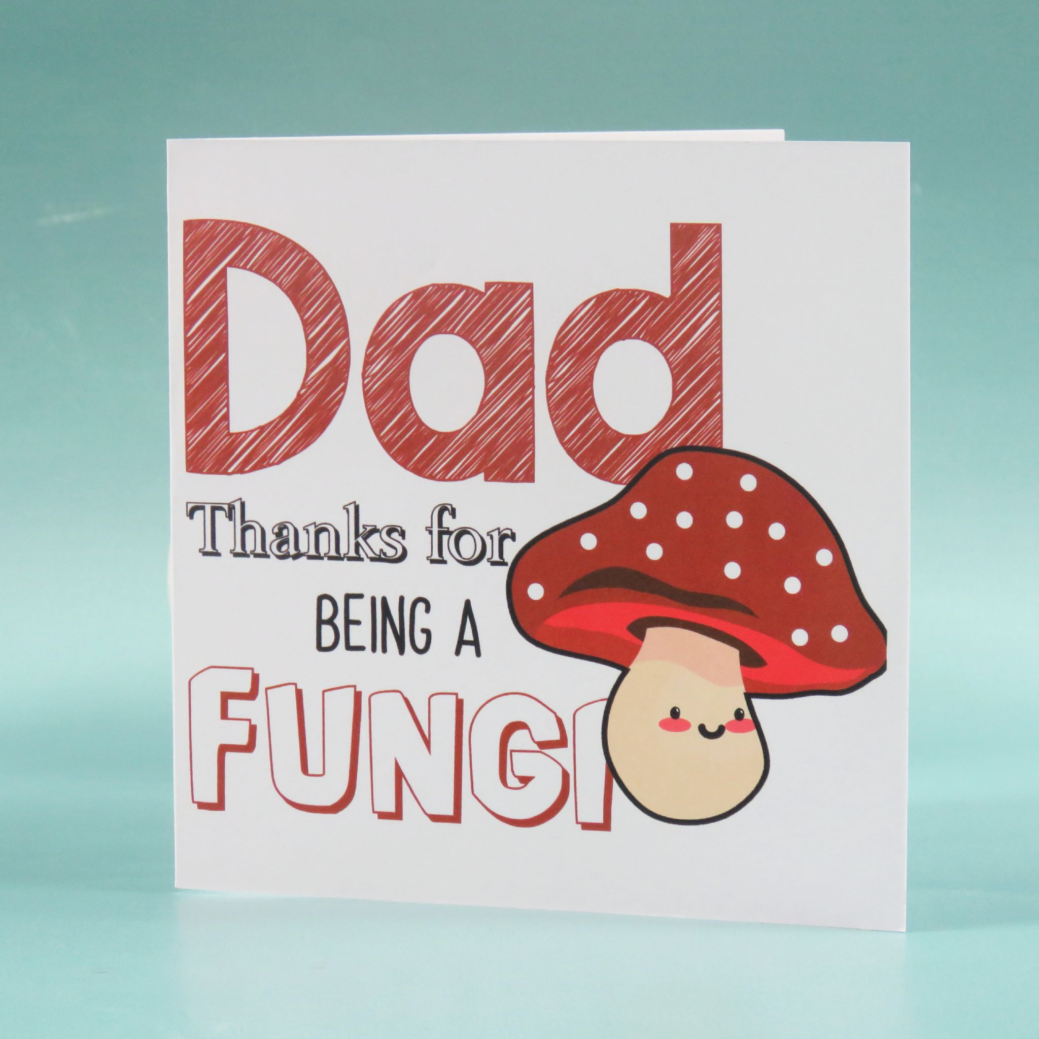 Dad mushroom card thanks for being a fungi humour fathers day dad mushroom card thanks for being a fungi humour fathers day birthday card m4hsunfo