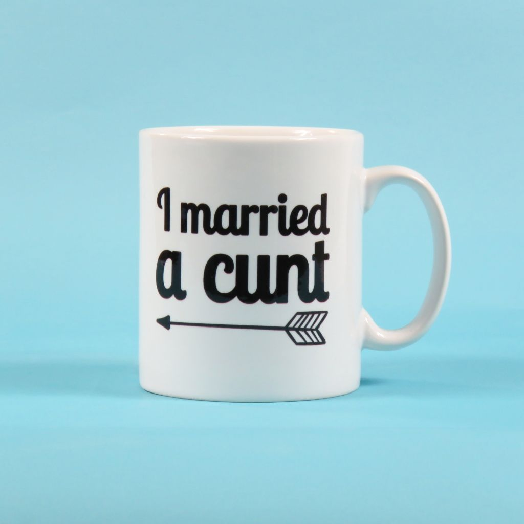c803db67c I married a cunt just married mug wedding cup Wedding Present Gift  Newlyweds Gifts for Couples