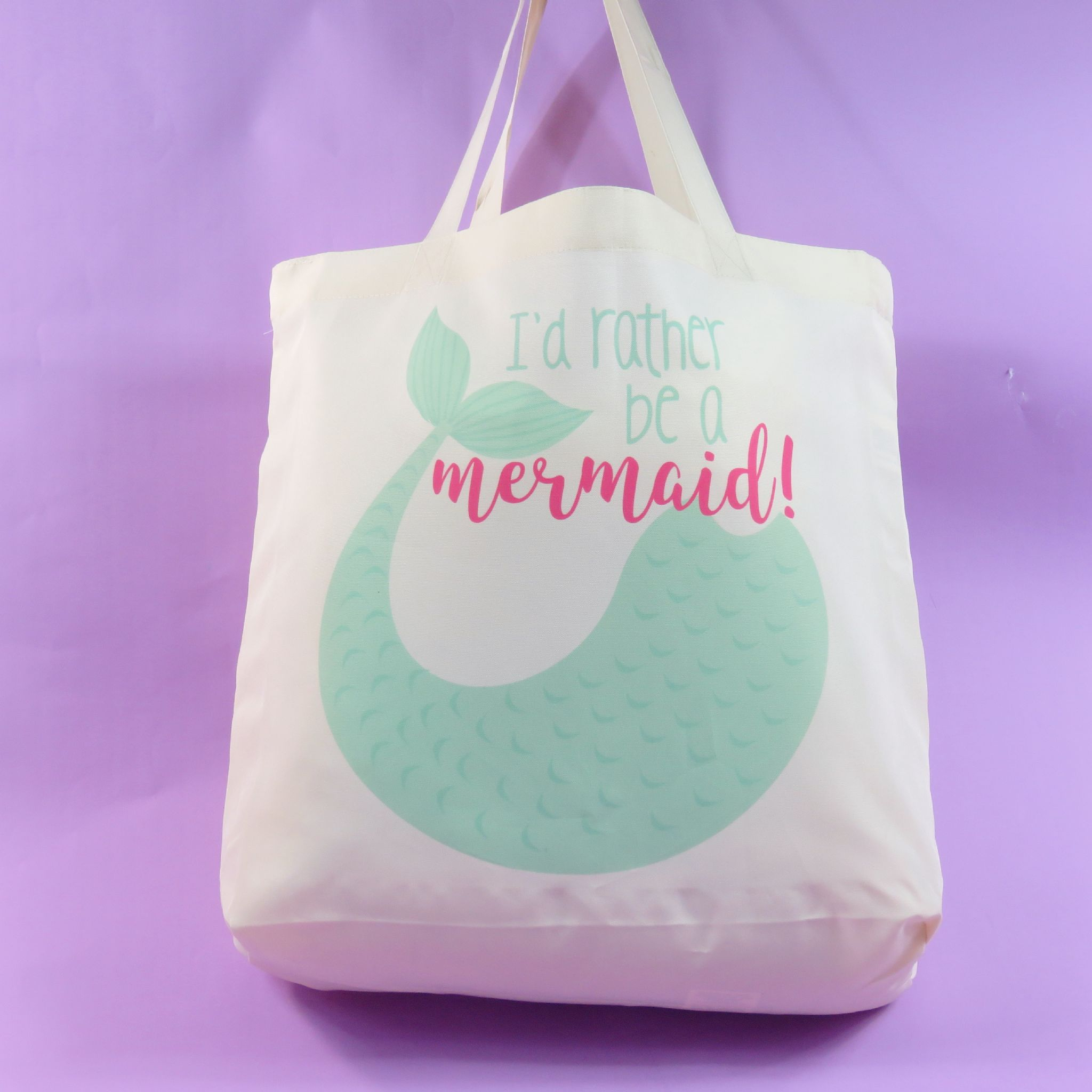 Bibs For Adults >> Mermaid Tote Bag Mermaid Bag for Life Mermaid Bag Adults mermaid bag for girls Rather be a