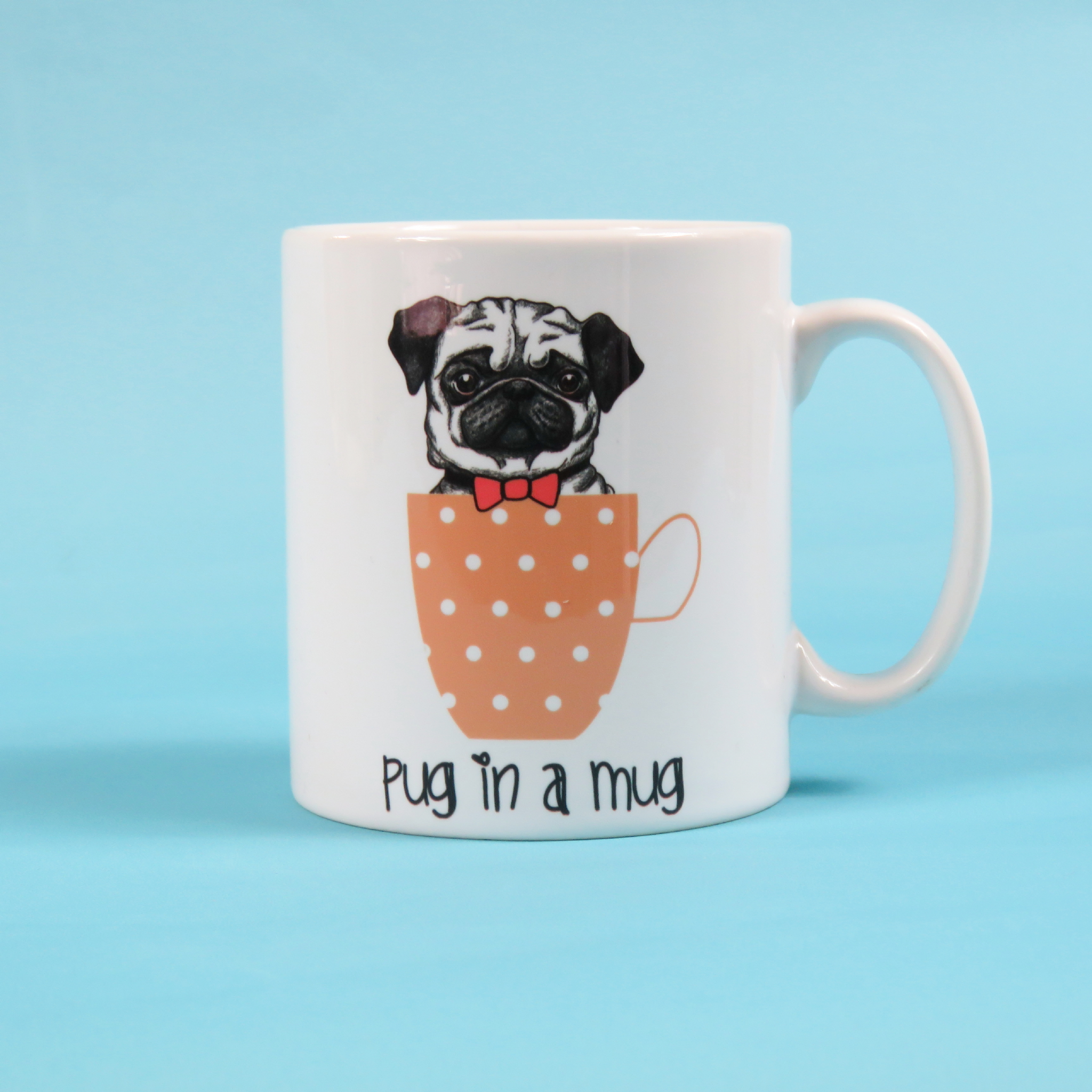 Pug Coffee Travel Mug