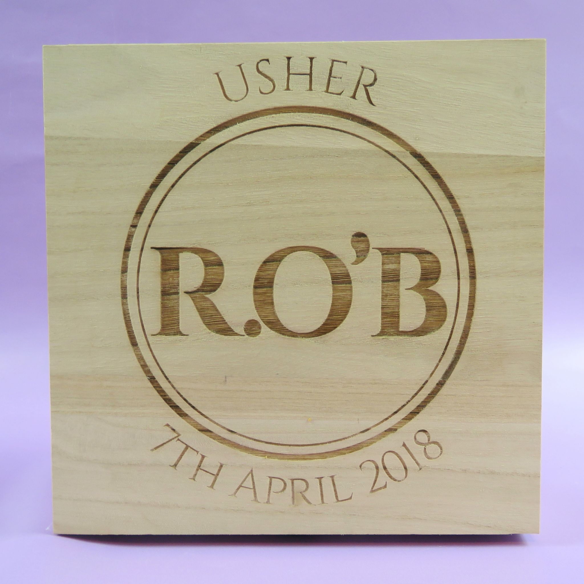 Best Man Wedding Gift Ideas: Wooden Best Man Box Personalised Engraved Box Bestman Gift