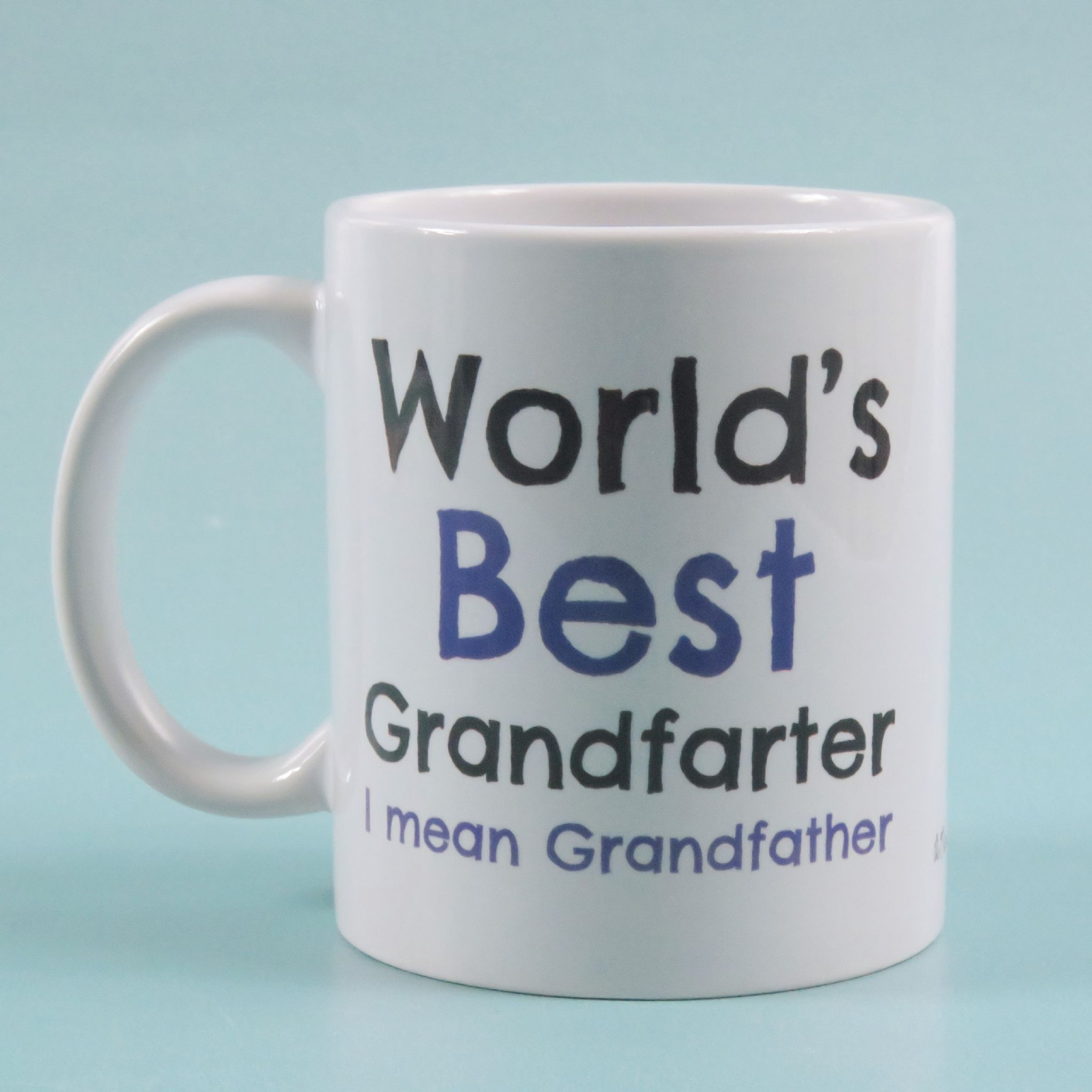 Worlds best grandfarter mean grandfather Fathers Day Gift Grandad Mug Birthday Coffee Gift grandad