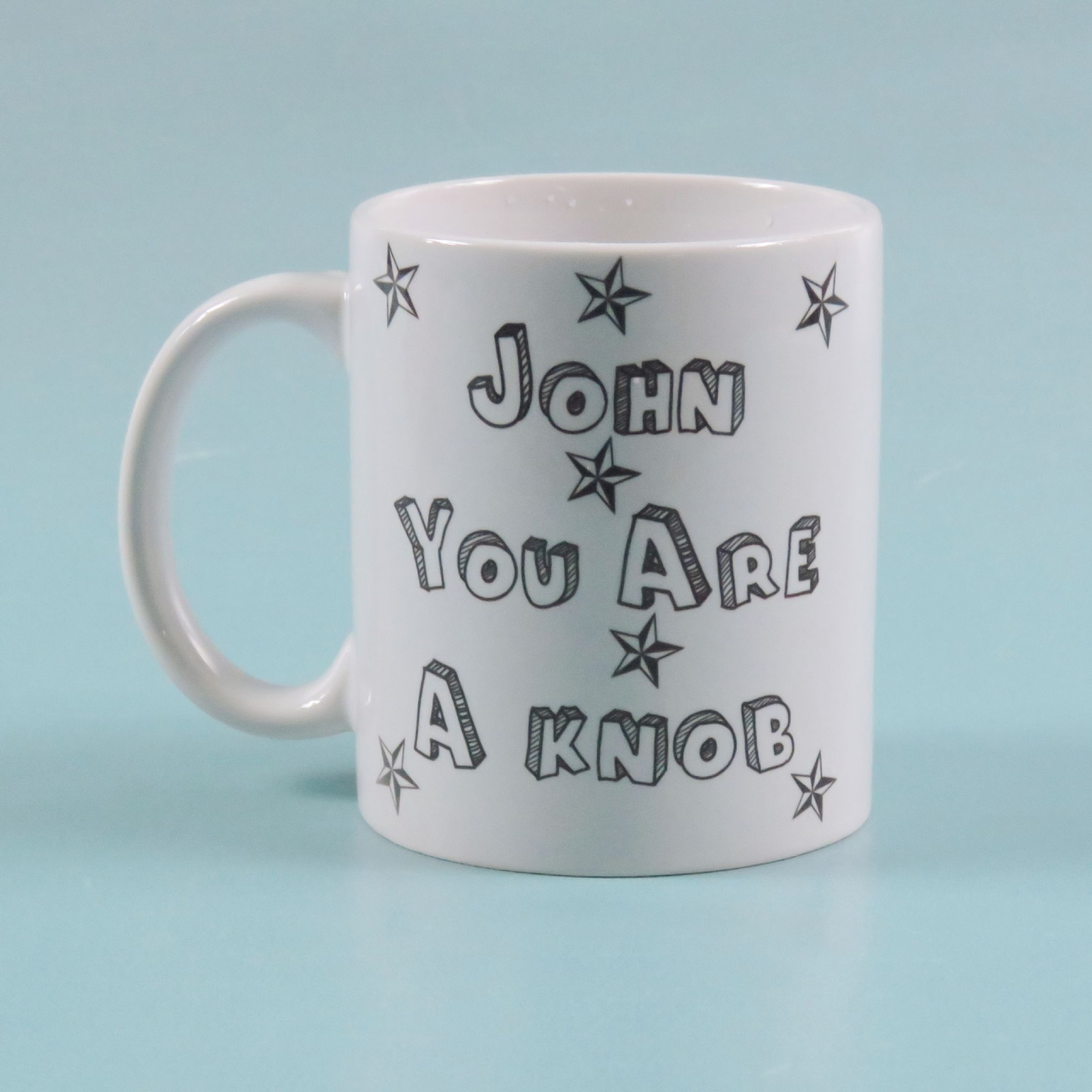 You re a knob but you re my knob personalised valentines day mug ...